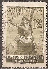 Buy [AR0647] Argentina: Sc. no. 647 (1955) Used Single