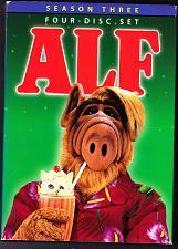 Buy Alf - Season 3 DVD 2006, 4-Disc Set - Very Good