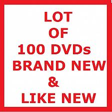Buy LOT OF 100 DVDs! TV SHOWS & MOVIES!, PLUS FREE GIFT
