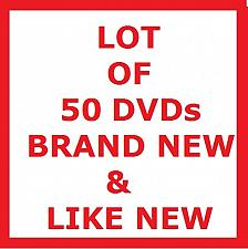 Buy LOT OF 50 DVDs! TV SHOWS & MOVIES, PLUS FREE GIFT