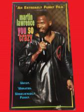 Buy MARTIN LAWRENCE: YOU SO CRAZY (VHS) STAND UP COMEDY, PLUS FREE GIFT