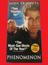 Buy PHENOMENON (VHS) JOHN TRAVOLTA (DRAMA/THRILLER), PLUS FREE GIFT