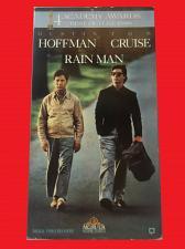 Buy RAIN MAN (VHS) DUSTIN HOFFMAN, TOM CRUISE (DRAMA/THRILLER/SUS), PLUS FREE GIFT