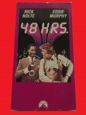 Buy 48 HRS (VHS) NICK NOLTE, EDDIE MURPHY (ACTION/THRILLER), PLUS FREE GIFT