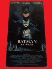 Buy BATMAN RETURNS (VHS) MICHAEL KEATON (ACTION/THRILLER), PLUS FREE GIFT