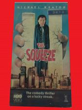 Buy THE SQUEEZE (VHS) MICHAEL KEATON (COMEDY/THRILLER), PLUS FREE GIFT