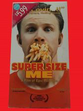 Buy SUPER SIZE ME (VHS) MORGAN SPURLOCK (DOCUMENTARY), PLUS FREE GIFT