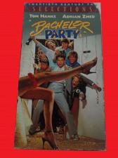 Buy BACHELOR PARTY (VHS, ) TOM HANKS, ADRIAN ZMED (COMEDY/ADVENTURE), PLUS FREE GIFT