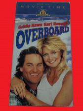 Buy OVERBOARD (VHS) GOLDIE HAWN, KURT RUSSELL (COMEDY/ROMANCE), PLUS FREE GIFT