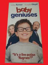 Buy BABY GENIUSES (VHS) CHRISTOPHER LLOYD (FAMILY/COMEDY), PLUS FREE GIFT