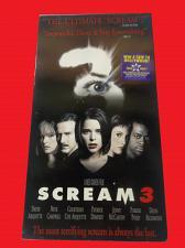 Buy SCREAM 3 (VHS) DAVID ARQUETTE (THRILLER/SUSPENSE), PLUS FREE GIFT