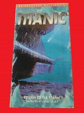 Buy THE TITANIC: RETURN TO THE TITANIC (VHS) JAMES DRURY (DOCUMNTRY), PLUS FREE GIFT