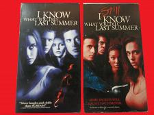 Buy DOUBLE FEATURE: I KNOW WHAT YOU DID LAST SUMMER PART 1 & 2 (VHS), PLUS FREE GIFT