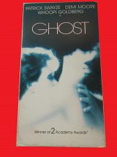Buy GHOST (VHS) PATRICK SWAYZE, DEMI MOORE (ROMANTIC DRAMA/THRILLER), PLUS FREE GIFT