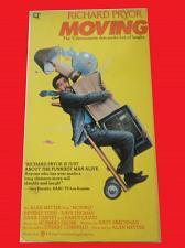 Buy MOVING (VHS) RICHARD PRYOR (COMEDY/ADVENTURE), PLUS FREE GIFT