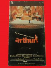 Buy ARTHUR (VHS) DUDLEY MOORE, LIZA MINELLI (ROMANTIC COMEDY), PLUS FREE GIFT