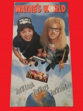 Buy WAYNE'S WORLD (VHS) MIKE MYERS, DANA CARVEY (COMEDY), PLUS FREE GIFT