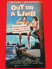 Buy OUT ON A LIMB (VHS) MATTHEW BRODERICK, JEFFREY JONES (COMEDY), PLUS FREE GIFT