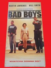Buy BAD BOYS (VHS) WILL SMITH, MARTIN LAWRENCE (ACTION/THRILLER), PLUS FREE GIFT
