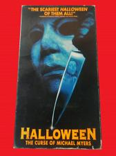 Buy HALLOWEEN: THE CURSE OF MICHAEL MYERS (VHS) PAUL RUDD (HORROR), PLUS FREE GIFT
