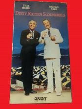 Buy DIRTY ROTTEN SCOUNDRELS (VHS) STEVE MARTIN, MICHAEL CAINE (CMDY), PLUS FREE GIFT