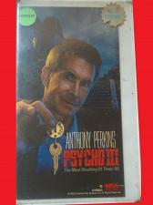 Buy PSYCHO 3 (VHS) ANTHONY PERKINS (HORROR/THRILLER), PLUS FREE GIFT