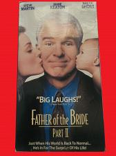 Buy FATHER OF THE BRIDE: PART II (VHS) STEVE MARTIN (COMEDY/ADVEN), PLUS FREE GIFT