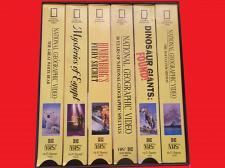 Buy NATIONAL GEOGRAPHIC VIDEO SET (6 BOX SET TAPES) (VHS) EDU/DOCU, PLUS FREE GIFT