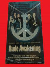Buy RUDE AWAKENING (VHS) ERIC ROBERTS (COMEDY/THRILLER), PLUS FREE GIFT