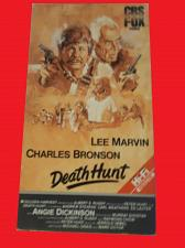 Buy DEATH HUNT (VHS) CHARLES BRONSON, LEE MARVIN (ACTION/THRILLER), PLUS FREE GIFT
