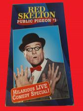 Buy RED SKELTON: PUBLIC PIGEON #1 (VHS) LIVE COMEDY, PLUS FREE GIFT