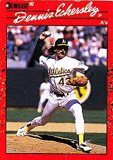 Buy Dennis Eckersley #210 - Athletics 1990 Donruss Baseball Trading Card