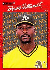 Buy Dave Stewart #BC-3 - Athletics 1990 Donruss Baseball Trading Card
