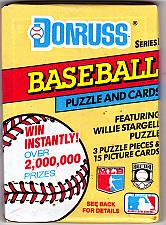 Buy Donruss Series One 1991 Baseball Cards Factory Sealed Pack