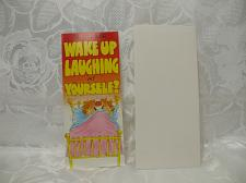 Buy Wake Up Laughing Birthday Card With Envelope