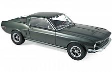 Buy 1968 Ford Mustang Fastback Satin Green Metallic 1/12 Diecast Model Car by Norev