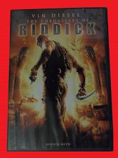 Buy THE CHRONICLES OF RIDDICK (FREE DVD) VIN DIESEL (ACTION/THRILL), PLUS FREE GIFT