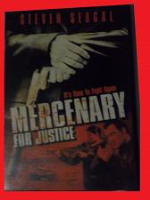 Buy MERCENARY FOR JUSTICE (FREE DVD) STEVEN SEAGAL (ACTION/THRILLER), PLUS FREE GIFT