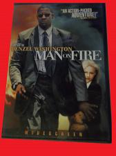 Buy MAN ON FIRE (FREE DVD) DENZEL WASHINGTON (ACTION/THRILLER), PLUS FREE GIFT