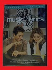 Buy MUSIC AND LYRICS (FREE DVD) HUGH GRANT (ROMANTIC COMEDY), PLUS FREE GIFT