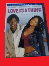 Buy LOVE DON'T COST A THING (WITH FREE DVD) NICK CANNON (COMEDY/DRAMA), PLUS FREE GIFT