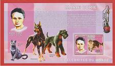 Buy [CI0038] Cinderella: Marie Curie 2006 Imperf Miniature Sheet MNH