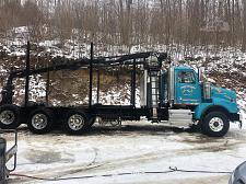 Buy 2016 Western Star 4900SB Log Truck For Sale in Johnsonburg, Pennsylvania 15845