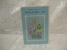 Buy Congratulations On The Birth Of Your Son Card And Envelope Sealed