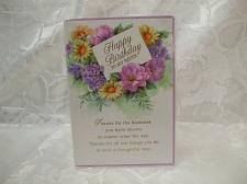 Buy Happy Birthday To My Sister Card And Envelope Sealed