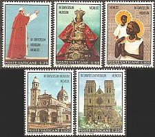 Buy [VC0496] Vatican City: Sc. no. 495-499 (1970) MH full set