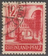 Buy [GS6N20] German States (Rhine-Palatinate) Sc. no. 6N20 (1948) Used