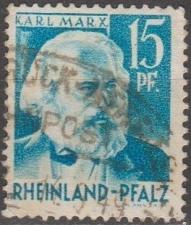 Buy [GS6N21] (Rhine-Palatinate) Sc. no. 6N21 (1948) Used