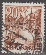 Buy [GS6N23] (Rhine-Palatinate) Sc. no. 6N23 (1948) Used
