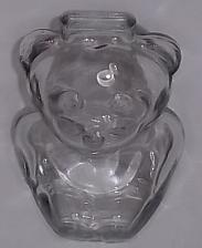 Buy TEDDY BEAR ANCHOR HOCKING PIGGY BANK